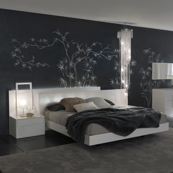 Nightfly White Bed