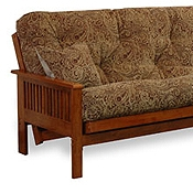 Ritz Wood Futon Frame
