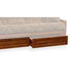 Southwest Wood Futon Frame Set w/ FREE Pillows - RSP-STHWST-SET#