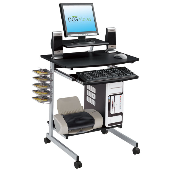 computer desk with keyboard tray dcg stores
