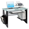 Tempered Glass Computer Desk - RTA-3325
