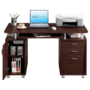 Double Pedestal Computer Desk