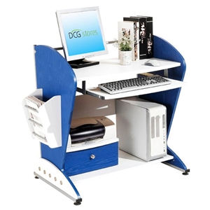 Boys Computer Desk - Blue and White