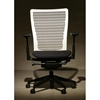 Medium Back White Molded Cool Mesh Chair - RTA-SI2911