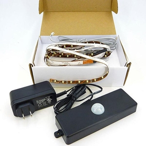 HIWL-120 Motion Sensing Light Strips - LED, AC Power Cord