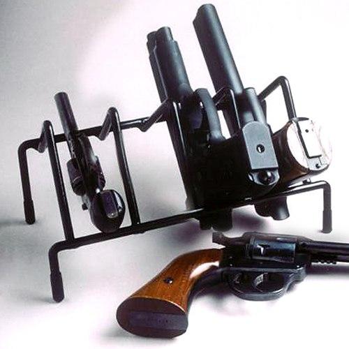 4 Gun Pistol Rack Coated Wire Dcg Stores