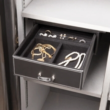 "6.5"" Under Shelf Jewelry Drawer - Velvet Lining"