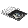 Under Shelf Vault / Gun Safe Drawer - Black Tray - LD-SAFE-DRWR