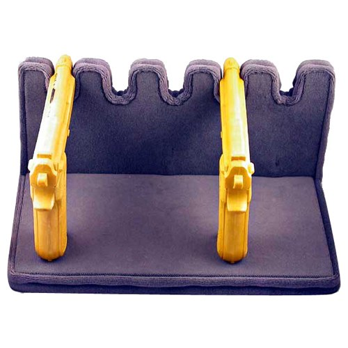 5-Gun Upholstered Pistol Rack - Plywood Base