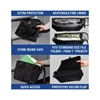 Cool Pocket Portable Bag - Velcro Flap, Double Zipper - LIB-COOL-POCKET