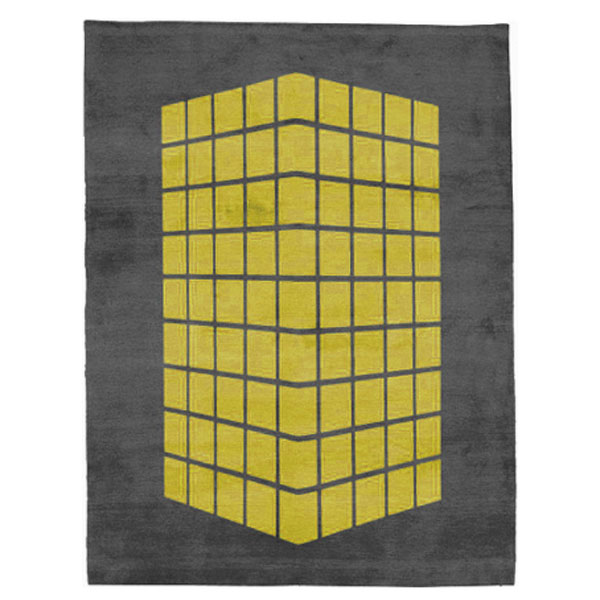 Cassady - Grey & Yellow Rug