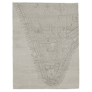 Lower Manhattan - Beige Rug