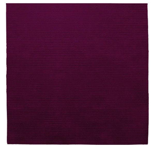 Dark Purple Rugs: Square Samba Contigo - Dark Purple Rug