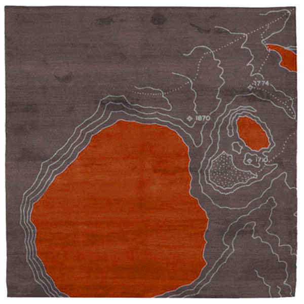 Topo No.1 Orange Rug