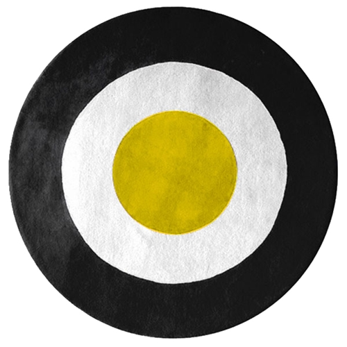 ystad yellow white black rug dcg stores. Black Bedroom Furniture Sets. Home Design Ideas