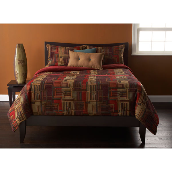 Arts and Crafts Modern Bedding Set