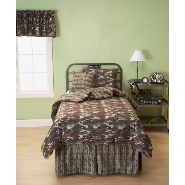 Galaxy Camo Boy's Bedding Set