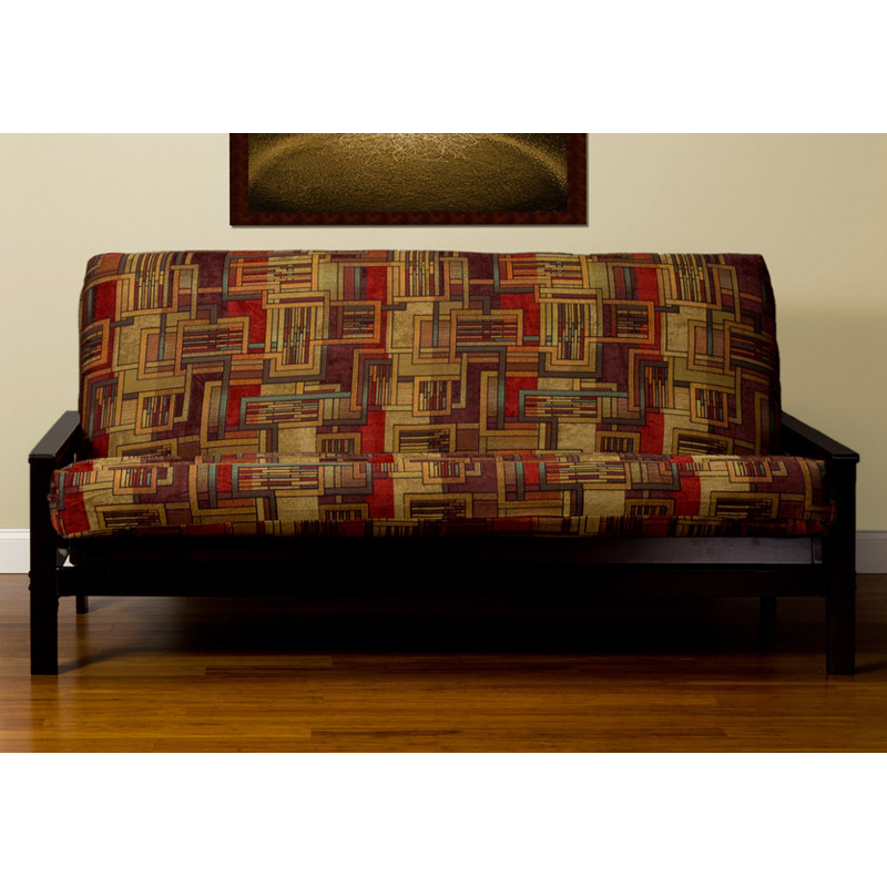 Medium image of somette outdoor lodge full size futon cover