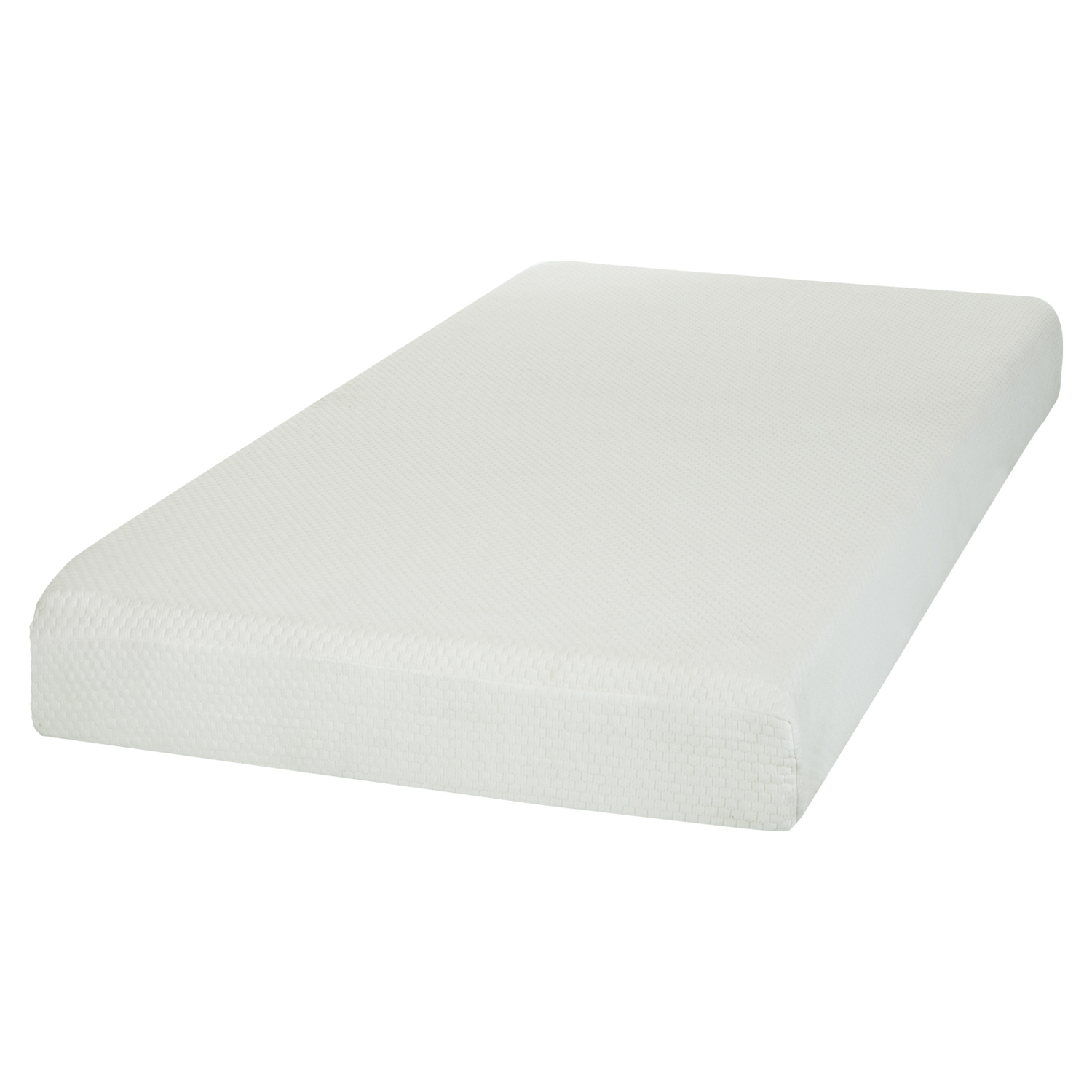 "Somea Basic 6"" Twin Mattress - White - SS-100001"