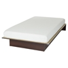 "Libra Twin Platform Bed with 6"" Somea Mattress - Royal Cherry - SS-100027"