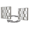 Reveal 16 Cubes Shelving Unit - Pure White - SS-10007