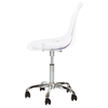 Clear Acrylic Office Chair - Wheels - SS-100075