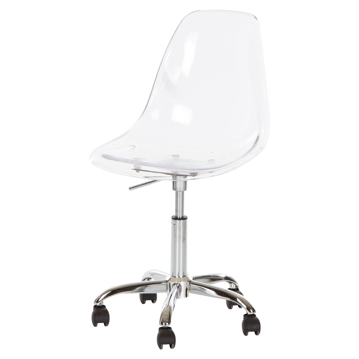 Clear Acrylic Office Chair Wheels Dcg Stores