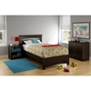 Libra Twin Bedroom Set - Chocolate - SS-10052