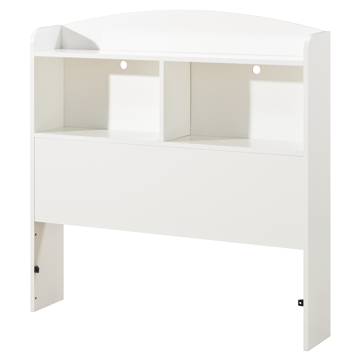 Logik Twin Mates Bedroom Set - 3 Drawers, Pure White - SS-10055-BS