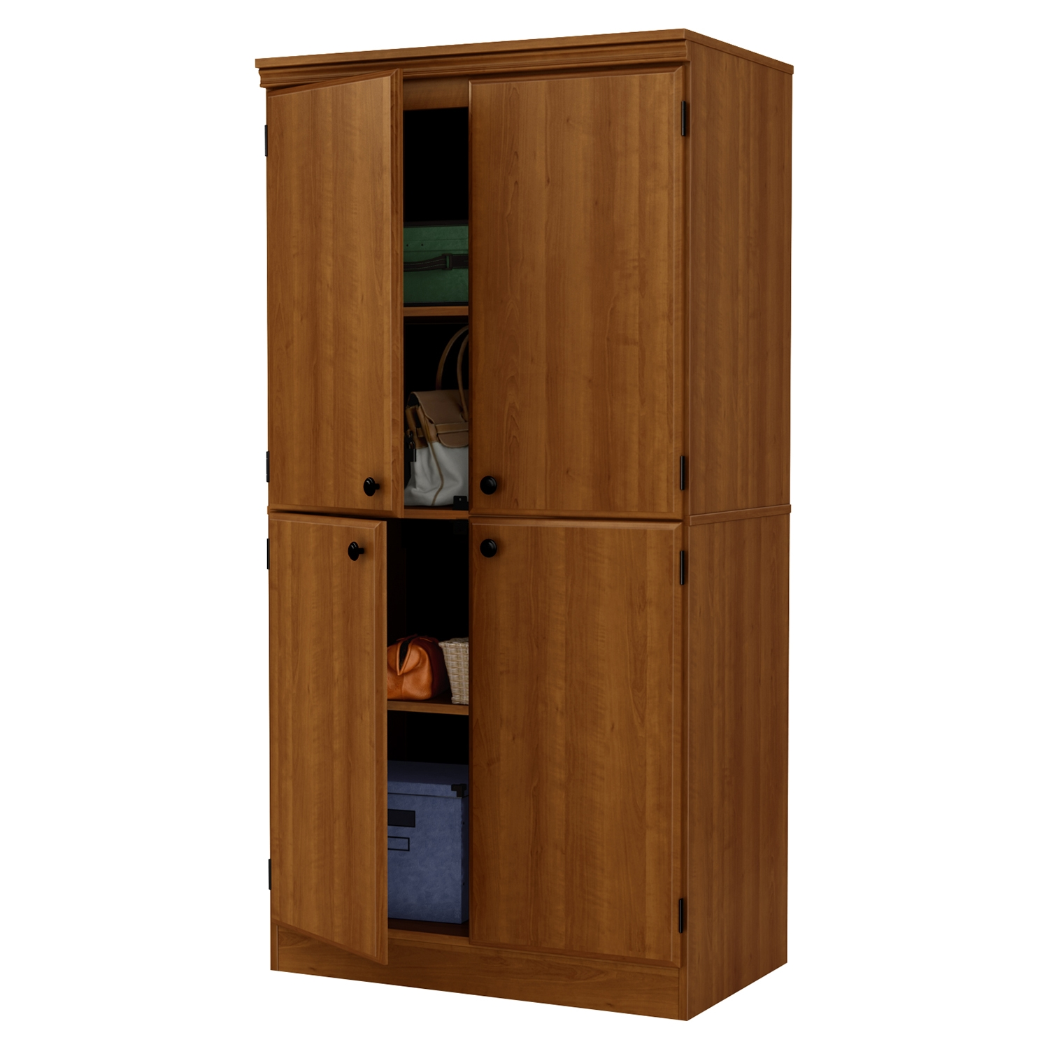 Morgan 4 Doors Storage Cabinet - Morgan Cherry - SS-10072