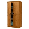 Morgan 4 Doors Storage Cabinet - Country Pine - SS-10074