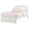 Lily Rose Twin Bedroom Set - White Wash - SS-1007-BED-SET