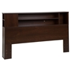 Vito Full/Queen Bookcase Headboard - Sumptuous Cherry - SS-10085