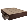 Vito Queen Mates Bed - 2 Drawers, Sumptuous Cherry - SS-10086