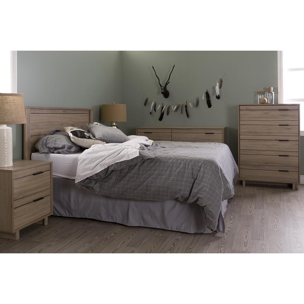 Bedroom Interior Design For Kids Bedroom Settee Bench Bedroom Room Colors Video Game Bedroom Decor: Fynn Full Headboard - Rustic Oak
