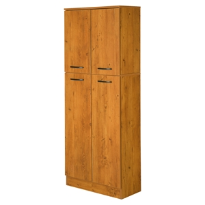 Axess 4 Doors Storage Pantry - Country Pine