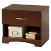 Step One Nightstand - 1 Drawer, Sumptuous Cherry - SS-10111