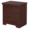 Versa 2 Drawers Nightstand - Royal Cherry - SS-10125