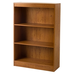 Axess 3 Shelves Bookcase - Country Pine