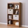 Axess 4 Shelves Bookcase - Country Pine - SS-10131