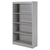 Axess 4 Shelves Bookcase - Soft Gray - SS-10136