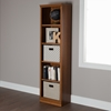 Morgan 5 Shelves Narrow Bookcase - Morgan Cherry - SS-10143