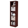 Morgan 5 Shelves Narrow Bookcase - Royal Cherry - SS-10147