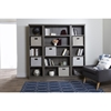 Morgan 5 Shelves Bookcase - Gray Maple - SS-10154