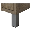 Expoz 6 Cubes Shelving Unit - Door, Weathered Oak, Soft Gray - SS-10167