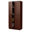 Axess Armoire - 4 Doors, Royal Cherry - SS-10184