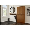Axess Armoire - 4 Doors, Morgan Cherry - SS-10190
