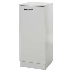 Axess Narrow Storage Cabinet - Soft Gray
