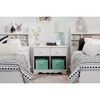 Summer Breeze 2 Drawers Double Nightstand - White Wash - SS-10205