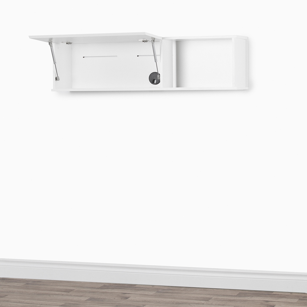 City Life Wall Mounted Storage Unit Pure White Dcg Stores
